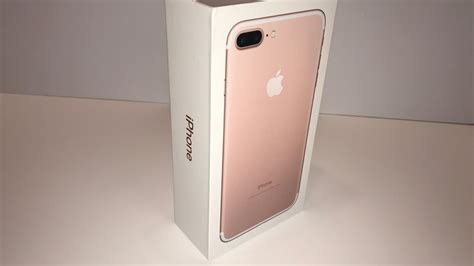 apple iphone   gb rose gold unboxing youtube