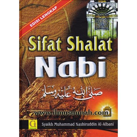 Buku Murah Meneladani Shalat Wudhu Nabi sifat shalat nabi edisi lengkap