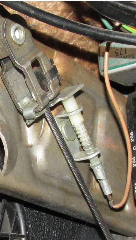parking brake indicator light chevelle tech