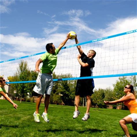 backyard volleyball net franklin volleyball set 59 99 retail 95 13 sports moms