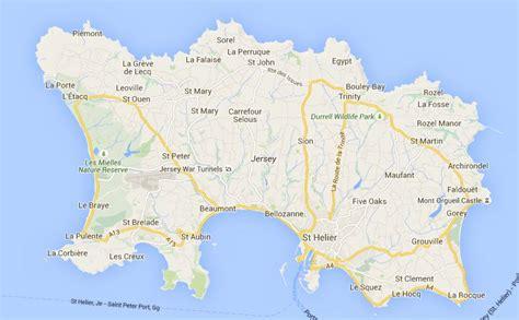 0004490363 carte touristique jersey en escapade 224 jersey franceregion fr