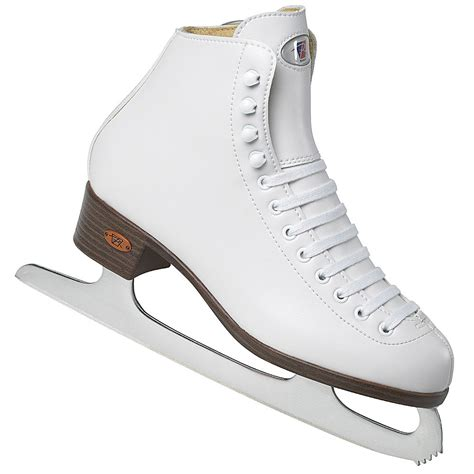 riedell 110 rs womens figure skates 7 0 new