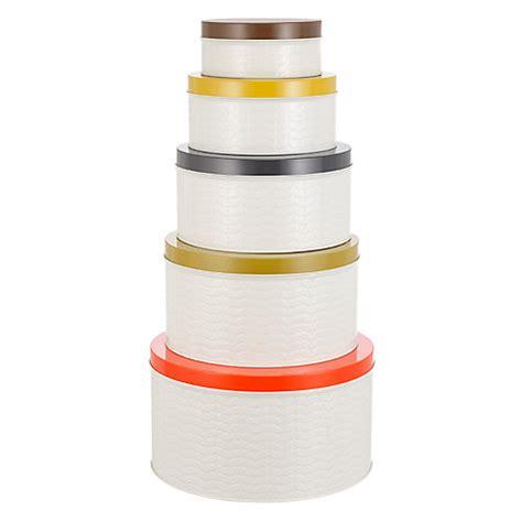 buy orla kiely raised stem kitchen storage tin canisters