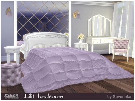 custom schlafzimmer sets the sims 4 custom content lilit bedroom