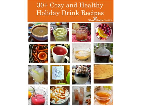 holiday cocktails png 30 cozy and healthy holiday drink recipes whole