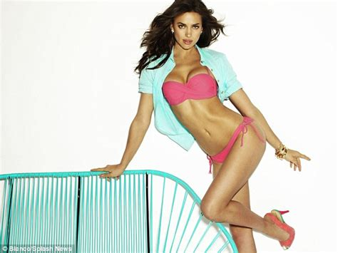 irina shayk s killer front new caign for