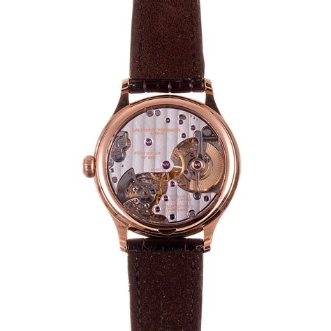 gold laurent ferrier galet micro rotor with silver