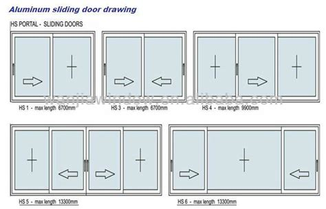 how to draw a sliding door in a floor plan aluminium sliding doors drawing main front glass door
