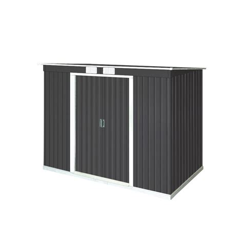 Duramax Steel Sheds by Duramax Building Products Pent Roof 8 Ft X 4 Ft
