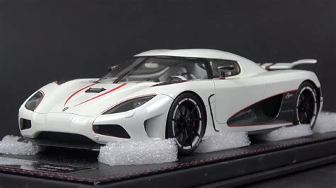 koenigsegg agera r white and blue 1 18 frontiart koenigsegg agera r white review youtube