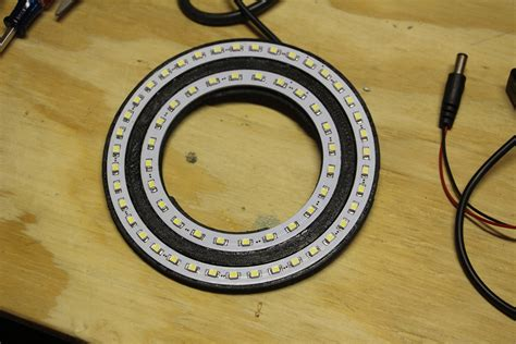 backyard workshop cheap diy led ring light