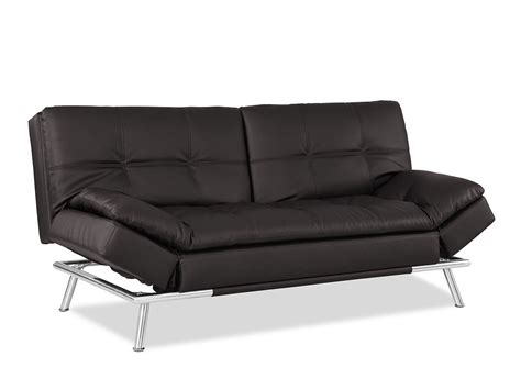 convertible sofa futon matrix convertible sofa bed java by lifestyle solutions