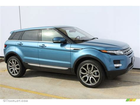 land rover evoque blue 2012 mauritius blue metallic land rover range rover evoque
