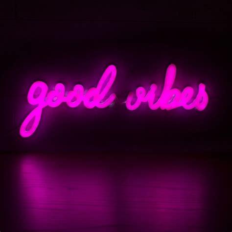 neon wall light signs pink vibes neon sign wall light neon light