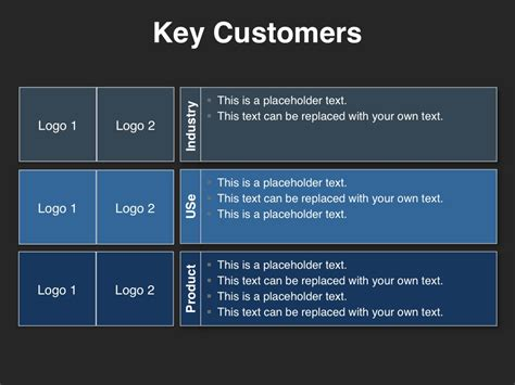investor presentation template download at four quadrant