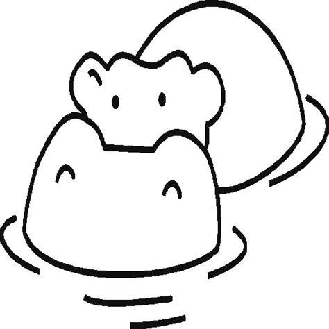 imagenes infantiles hipopotamo laminas de hipopotamos para colorear