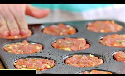que cuisiner avec de la viande hach馥 met du boeuf hach 233 dans un moule 192 muffins sa