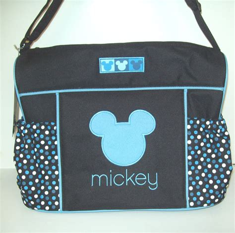 Disney Baby Japan Skater Mickey Cutlery Bag mickey mouse personalized bag tag each