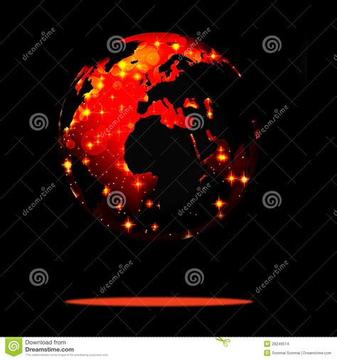 earth new year earth symbol of the new year on our planet stock images