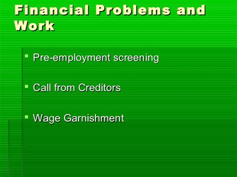 Do Pending Charges Show Up On Pre Employment Background Check Money Matters Class 1 Introduction