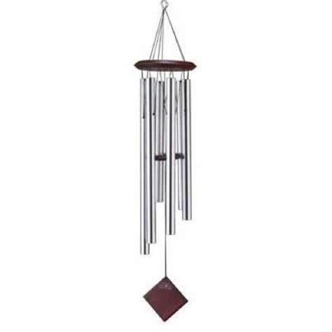 Decorative Wind Chimes by Woodstock Chimes Of Earth Silver Decorative Wind Chime Ebay