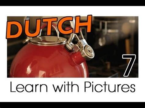 Learn Dutch Vocabulary With Pictures Cooking In The