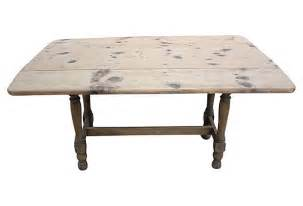 Drop Leaf Farm Table American Pine Drop Leaf Farm Table