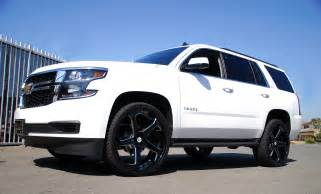 2015 tahoe on 28 inch rims autos post