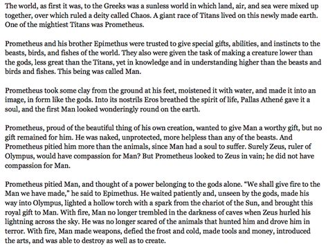 themes in the story of prometheus mr trumble s blog day 57 12 1 14 unit 2 lesson 9