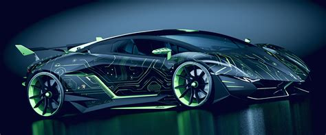 Lamborghini Concept car « RESONARE Individual » by Paul