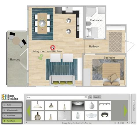 room planner home design free roomsketcher free materialvalg for baderomsm 248 bler
