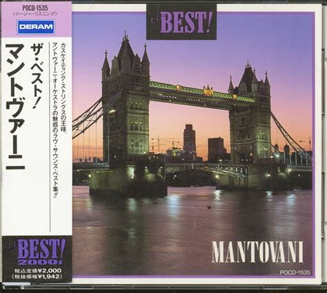 orchestra mantovani mantovani his orchestra cd the best mantovani cd