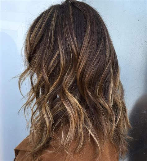 highlight colors for brown hair 70 balayage hair color ideas with brown caramel