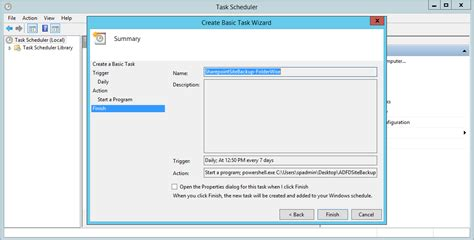 about task scheduler 2 0 and why you should never disable it rajasekar s blog automating sharepoint site backup using