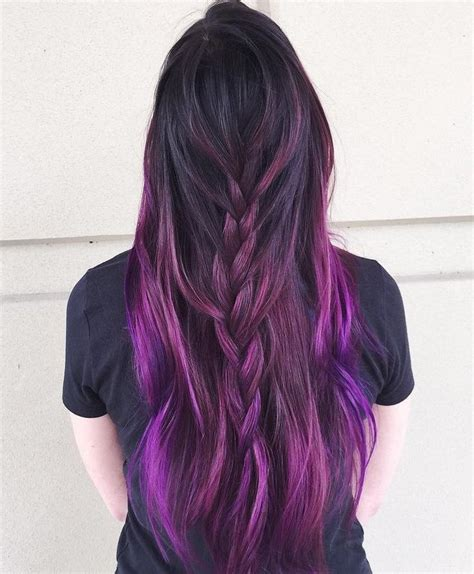 permanent hair color purple best 25 permanent purple hair dye ideas on