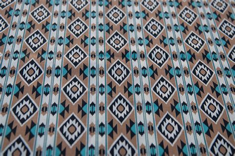 western print upholstery fabric amazing western print nos vintage fabric american indian