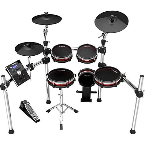 Harga Kick Pad Drum Elektrik alesis crimson electronic 5 drum kit with mesh heads