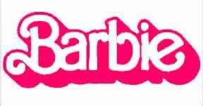 Where To Buy Wall Art Stickers amazon com barbie logo 6 quot pink car truck vinyl decal art