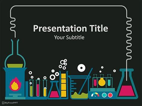 free laboratory powerpoint template medical template