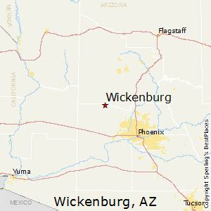 wickenburg arizona map best places to live in wickenburg arizona