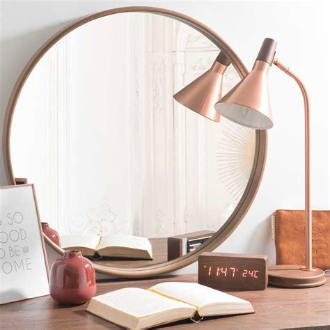 Miroir Rond 60 Cm by Miroir Rond En Bois D 60 Cm Andersen Maisons Du Monde