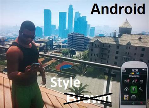 gta v android here s how gta 5 s developers see iphone android and windows phone users images redmond pie