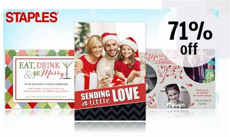 Can You Buy A Groupon Gift Card - groupon 71 off custom christmas cards southern savers