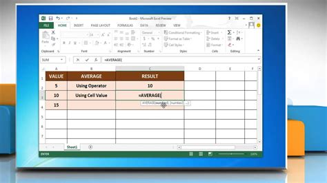 Search Warrant Canada Exle How To Use The Excel Average Function In Microsoft 174 Excel 2013