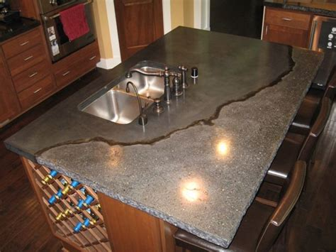 Gfrc Countertops - concrete countertops exposed aggregate exposed aggregate