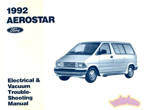 service manual free auto repair manuals 1990 ford aerostar auto manual service manual car