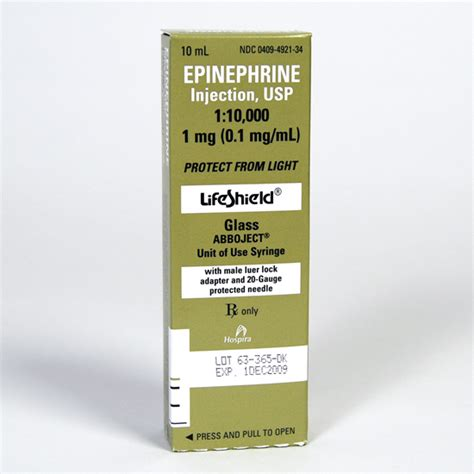 Home Design Store Los Angeles by Epinephrine Injection Usp 1 10 000 Merit Pharmaceuticals