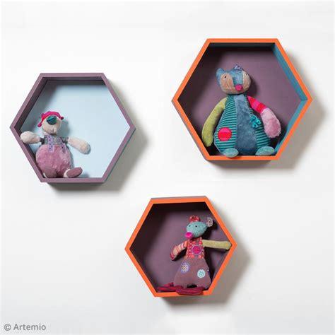 etagere diy diy rangement etag 232 res hexagonales id 233 es et conseils
