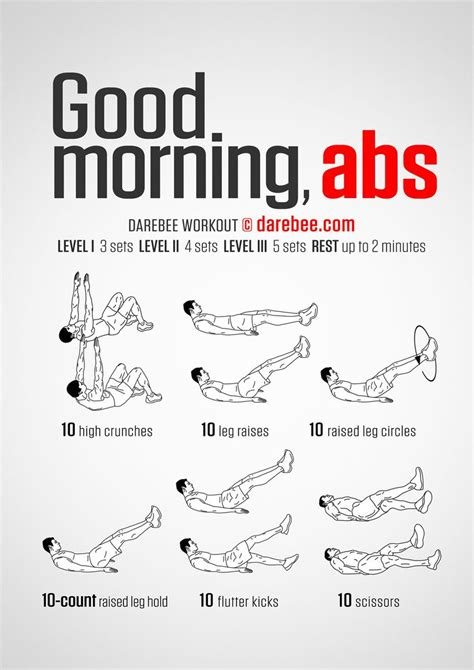 darebee on quot morning abs workout https t co
