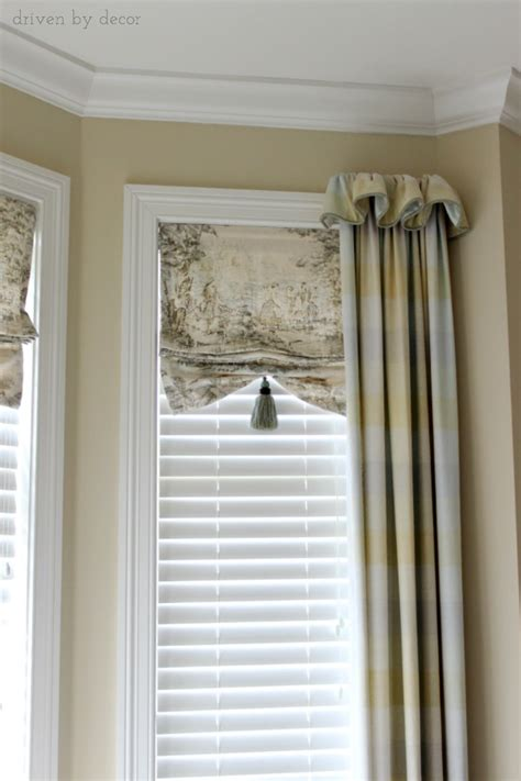 inset curtain rods window treatments for those tricky windows driven by decor